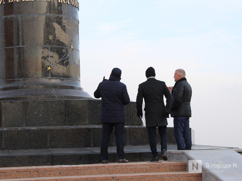 Памятник Чкалову отреставрировали в Нижнем Новгороде - фото 3