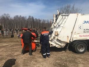 Свыше 260 контейнеров установят на нижегородских кладбищах