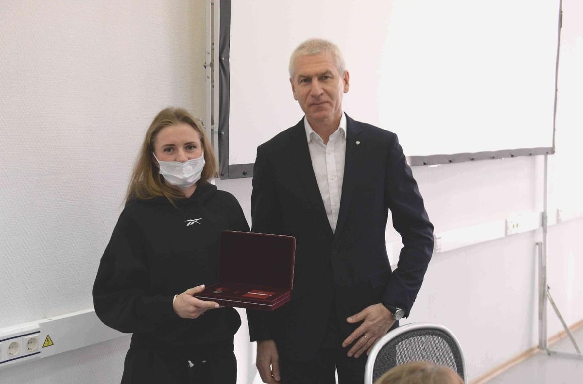 Нижегородская спортсменка получила медаль ордена «За заслуги перед Отечеством» - фото 1