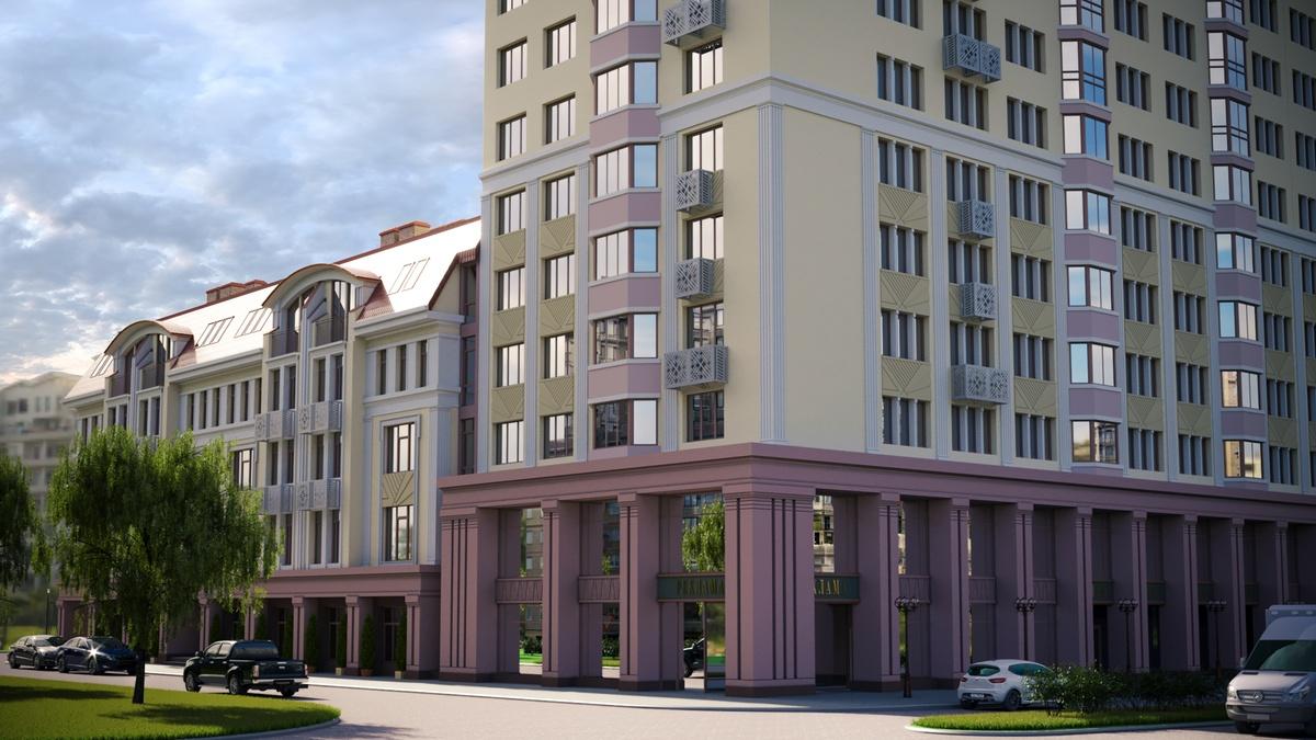 Рядом с главными вузами Нижнего Новгорода строится новый дом  - фото 1