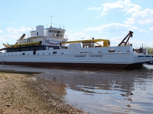 Уникальное судно для арктических рек спустили на воду в Нижегородской области