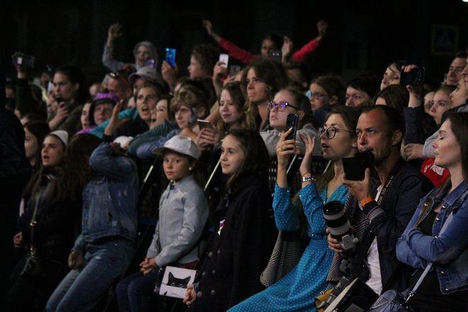 Полина Гагарина спела для нижегородцев в День России - фото 15
