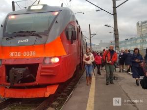 Летние пригородные поезда начнут курсировать в Нижегородской области