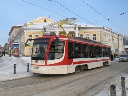 Движение нижегородских трамваев теперь можно отслеживать в Яндексе
