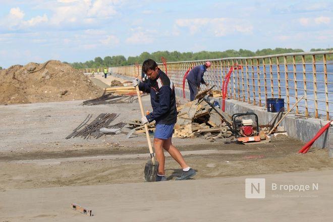 Парк вместо парковки: как идет благоустройство Окской набережной в Нижнем Новгороде - фото 19