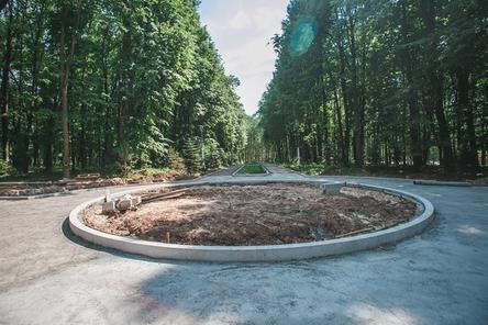 Монтаж фонтана в нижегородском парке «Швейцария» выполнен на 85%