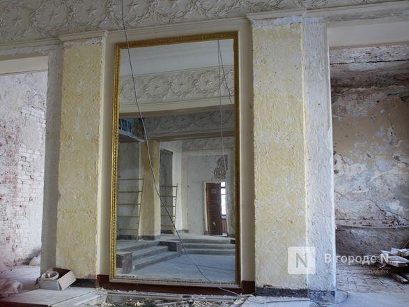 Единство двух эпох: как идет реставрация нижегородского Дворца творчества - фото 43