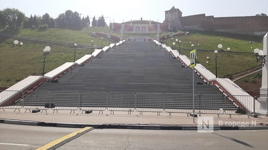 Чкаловскую лестницу снова закрыли для посещения в Нижнем Новгороде - фото 2