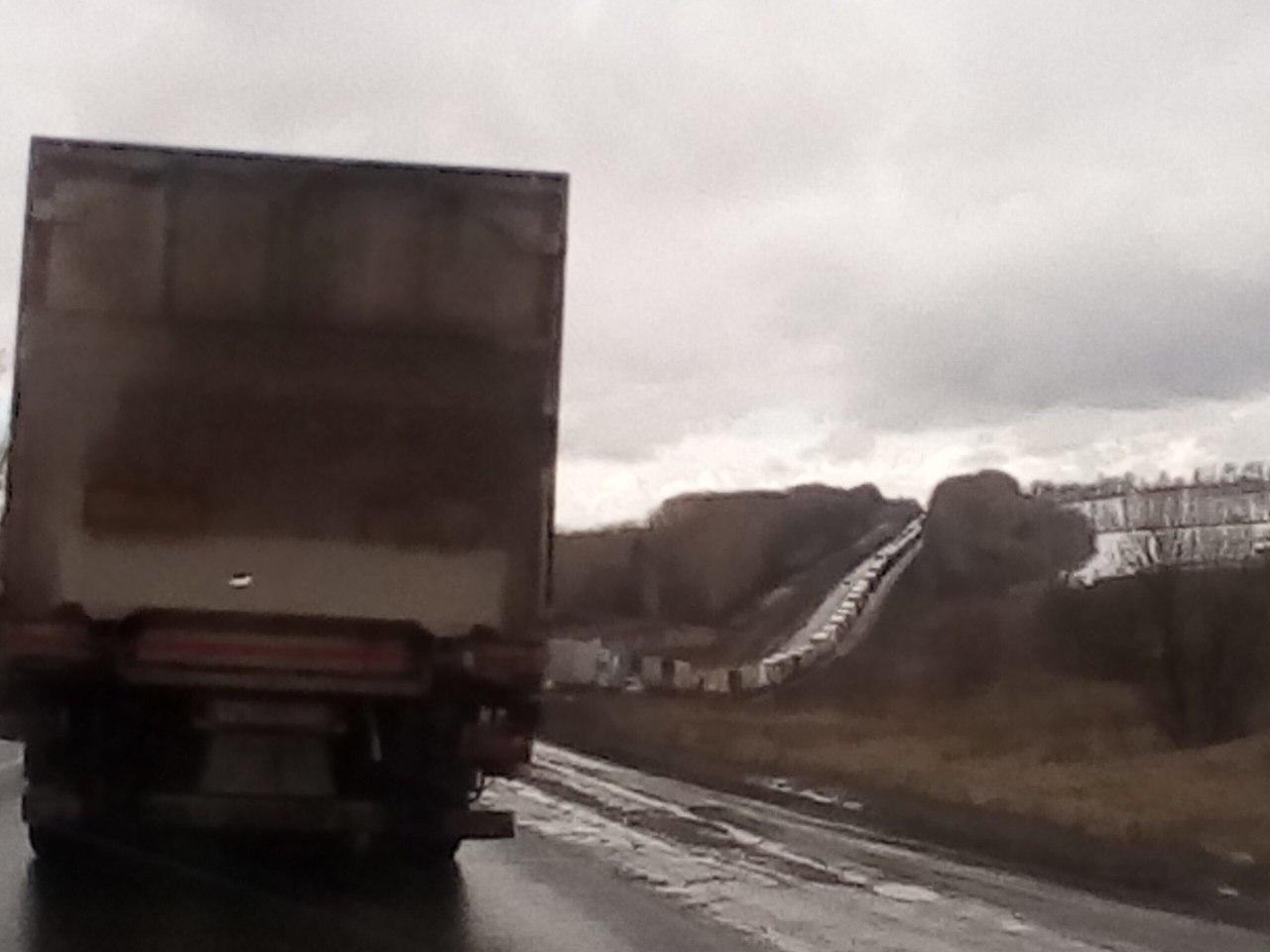 Дорогу М-7 «Волга» вКстовском районе Нижегородской области перекроют 21апреля