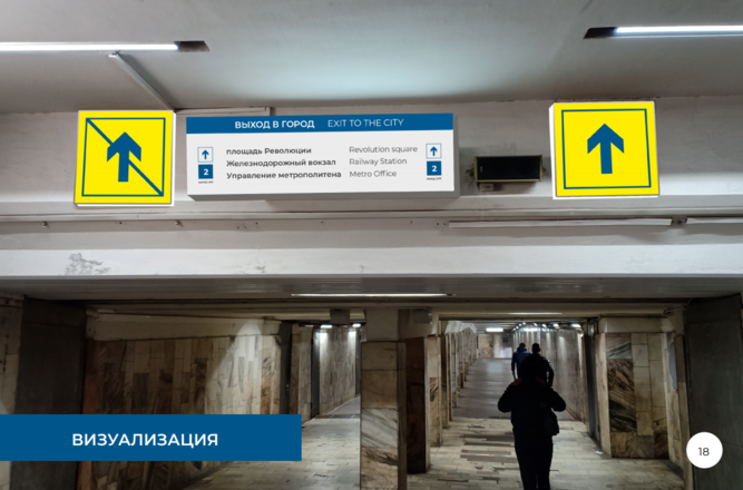 Систему навигации поменяют на четырех станциях нижегородского метро - фото 19