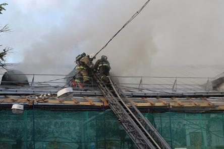 Нижегородский Литературный музей начали восстанавливать после пожара