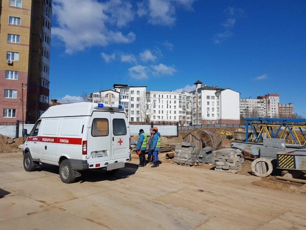 Нижегородских строителей каждый день осматривает бригада врачей - фото 1