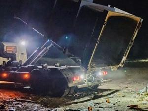Мусорный контейнер травмировал рабочего в Городецком районе