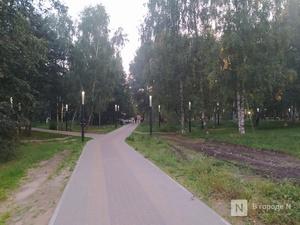 Открытие парка Пушкина после благоустройства вновь отложилось