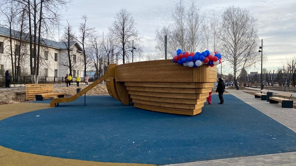 Сквер Корабелов в Навашине ждет дополнительное озеленение - фото 1