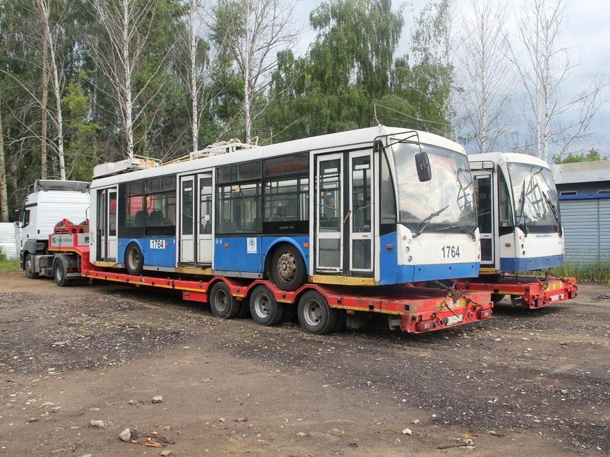 Новая партия из 40 московских троллейбусов поступит в Нижний Новгород - фото 1