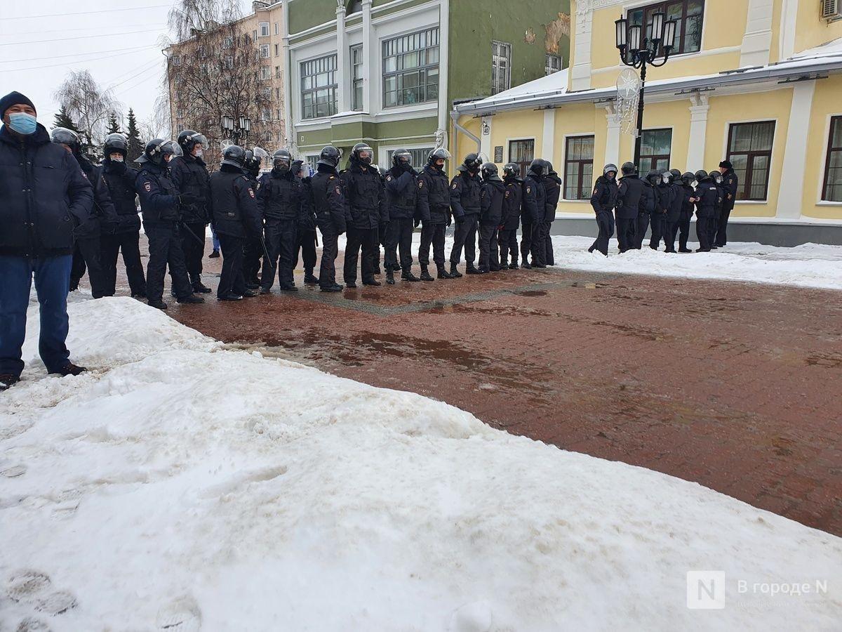 Число задержанных на митинге в Нижнем Новгороде возросло до 70 - фото 1