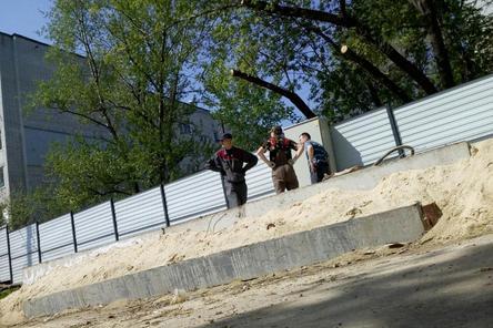 Жители микрорайона «Ярмарка» написали заявление в полицию на действия застройщика гостиницы