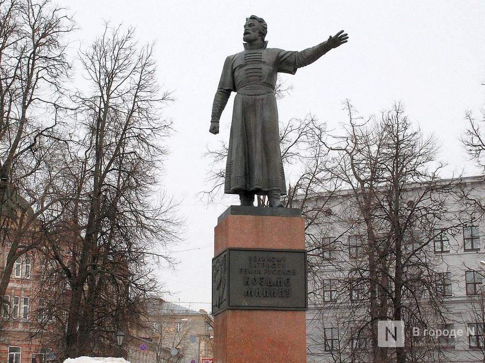 Реставрация памятника Минину завершилась в Нижнем Новгороде