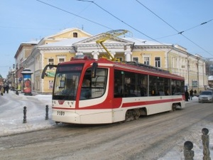 Дежурные трамваи и троллейбусы в Нижнем Новгороде будут курсировать в новогоднюю ночь