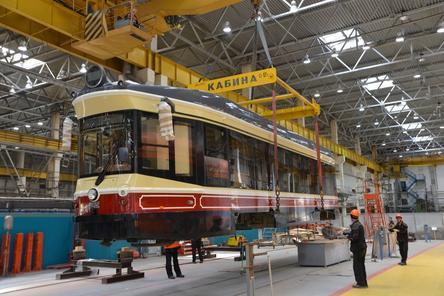Ретро-трамвай вышел в тестовый рейс в Нижнем Новгороде
