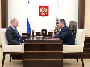Путин провел первую встречу с Бабичем в качестве нового посла России в Белоруссии