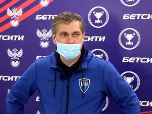 Евдокимов остался недовольным контролем мяча в матче ФК «НН» с «Химками»