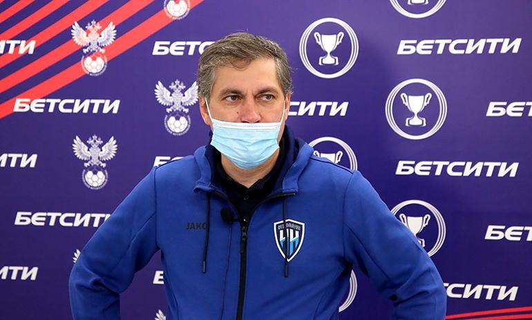 Евдокимов остался недовольным контролем мяча в матче ФК «НН» с «Химками» - фото 1