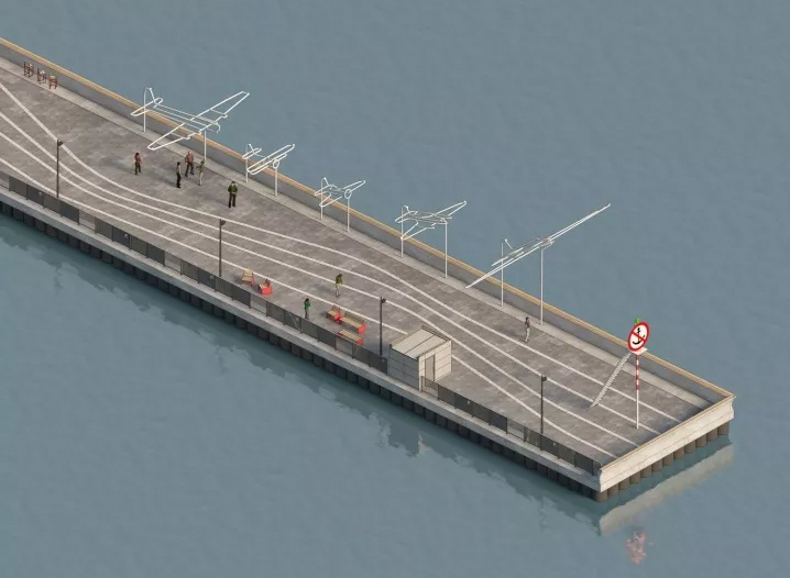 Волнорез с арт-объектом и мостки над водой: каким видится будущее пристани в Чкаловске - фото 6