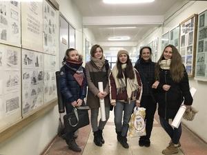 Студенты ННГАСУ изучили арт - объект в стиле авангард