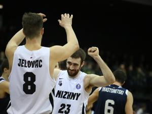 Баскетбольный клуб «Нижний Новгород» одержал победу над «Цмоки-Минск»