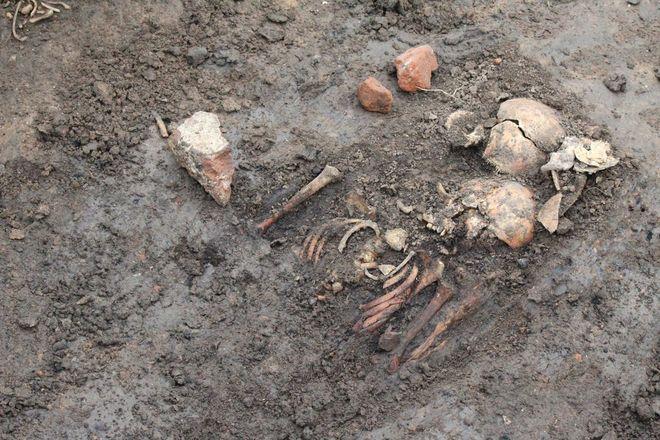 Новые находки на старом кладбище: что обнаружили археологи в Нижегородском кремле - фото 21