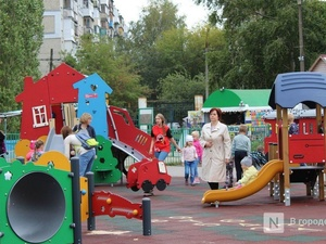 Вместо ста новых детских площадок в Нижнем Новгороде установят 111