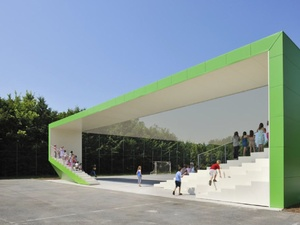 Многофункциональные павильоны для спорта и отдыха появятся в парках Нижнего Новгорода