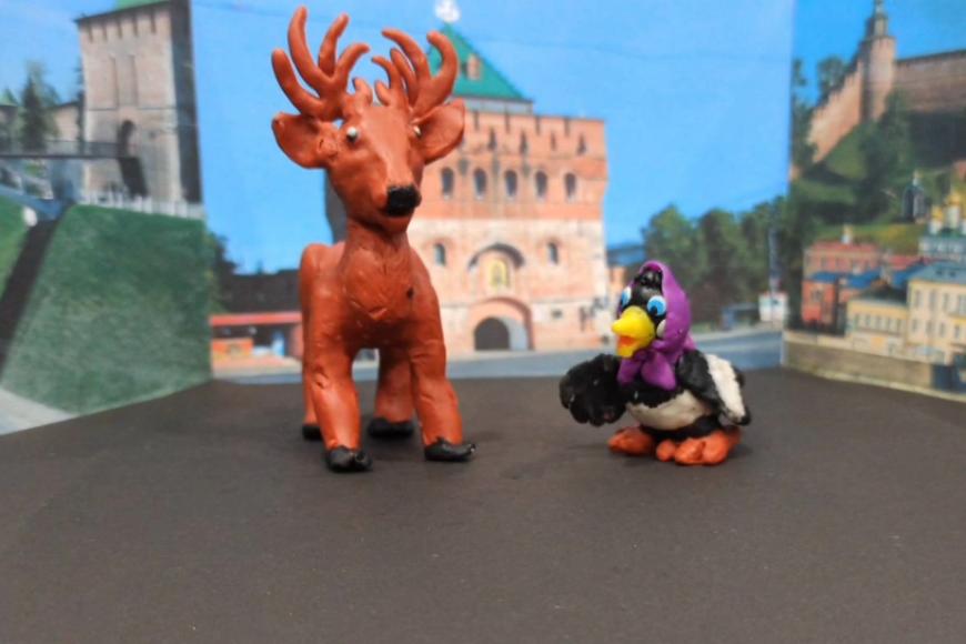 Пластилиновые и кукольные мультфильмы создали детсадовцы к 800-летию Нижнего Новгорода - фото 1