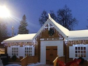 Нижегородская резиденция Деда Мороза превратилась в дом для «моржей»