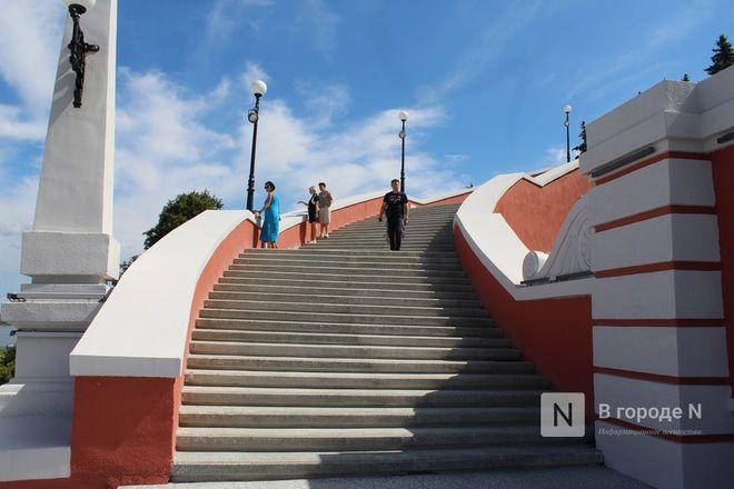 Чкаловскую лестницу открыли, несмотря на продолжающиеся ремонтные работы - фото 42