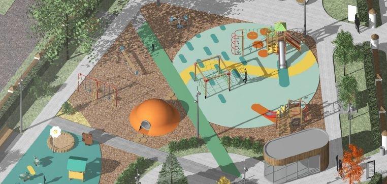 Стало известно, как будет выглядеть детская площадка в Дубенках - фото 1