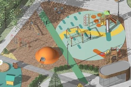 Стало известно, как будет выглядеть детская площадка в Дубенках