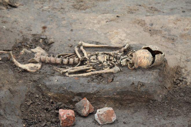 Новые находки на старом кладбище: что обнаружили археологи в Нижегородском кремле - фото 9