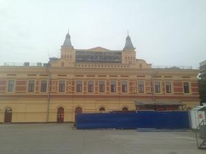 На Нижегородской ярмарке начался монтаж купольного кинотеатра