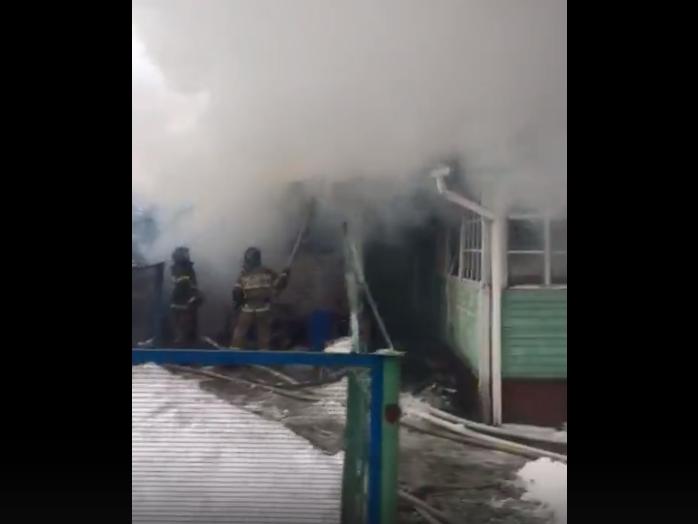 Жилой дом сгорел в Кстовском районе - фото 1